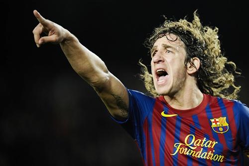 Carles Puyol of FC Barcelona