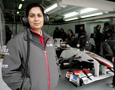 Sauber chief Monisha Kaltenborn