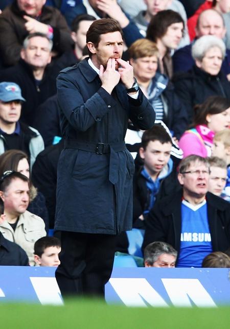Totenham Hotspur manager Andre Villas Boas