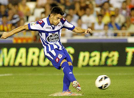 Deportivo Coruna's Luis Miguel Pizzi Alonso