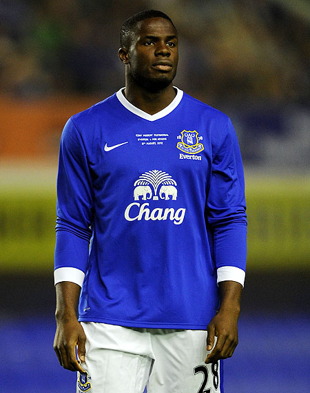 Victor Anichebe of Everton