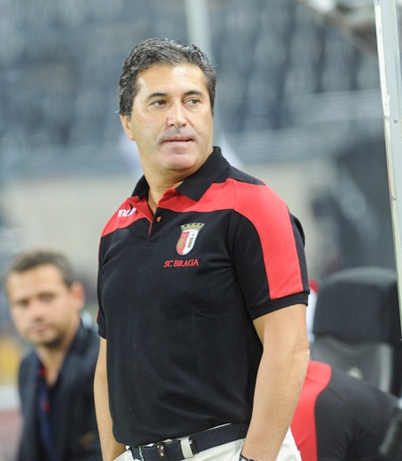 Jose' Peseiro, head coach of SC Braga