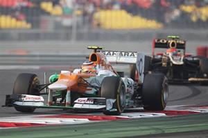 The Sahara Force India car