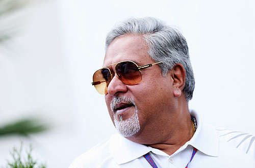 Force India Chairman Vijay Mallya