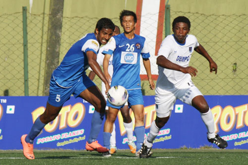 Dempo edge past United Sikkim