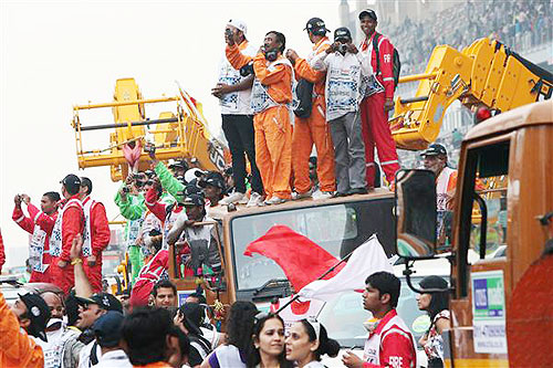 'Indian Grand Prix is fantastic'