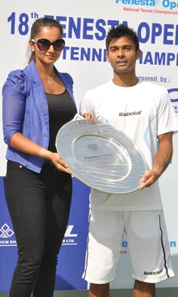 Sania Mirza and Jeevan Nedunchezhiya