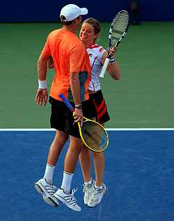 Kim Clijsters and Bryan