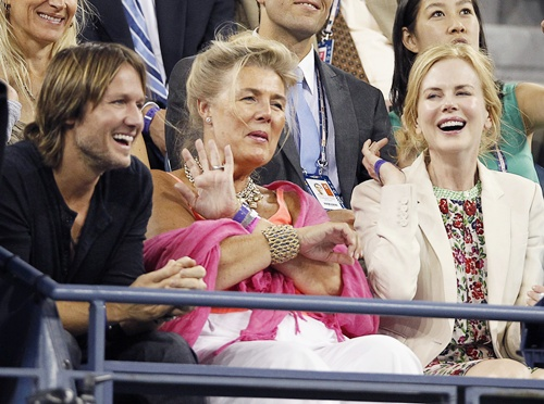 PHOTOS: Celebrities hit the US Open courts