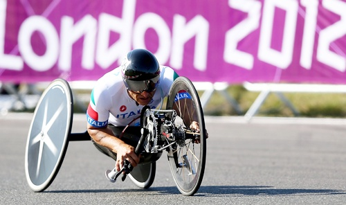 Alessandro Zanardi of Italy