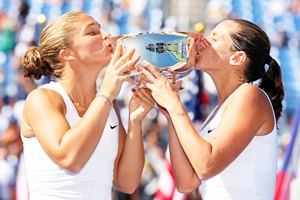 Sara Errani and Roberta Vinci of Italy
