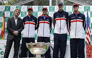 The US Davis Cup team