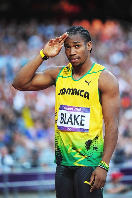 Yohan Blake Sprinting