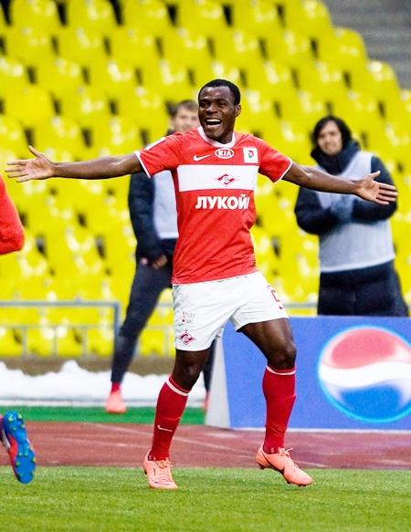 Emmanuel Emenike of FC Spartak Moscow