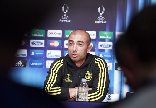 Chelsea's coach Roberto Di Matteo