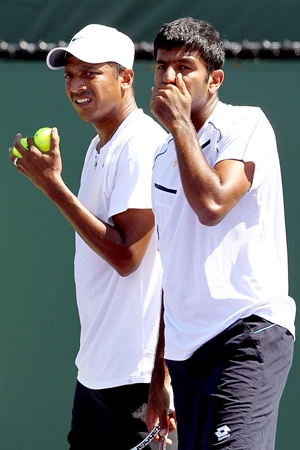 Mahesh Bhupathi and Rohan Bopanna