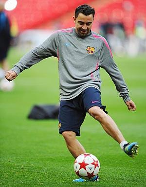 Barcelona's Xavi