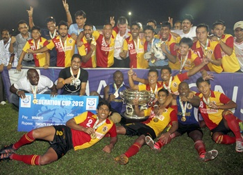 The East Bengal team