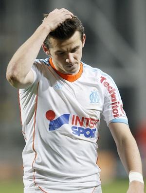 Olympique Marseille's Joey Barton