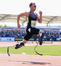Rediff Sports - Cricket, Indian hockey, Tennis, Football, Chess, Golf - Pistorius unlikely to make track return this year