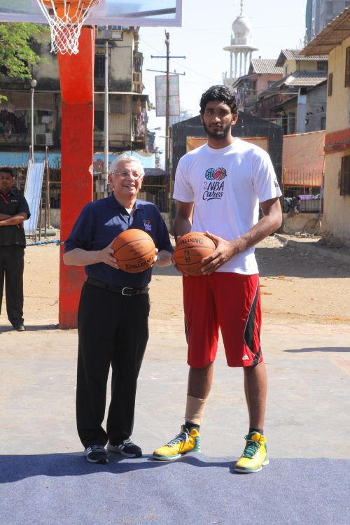 David Stern and Amrit Pal Singh