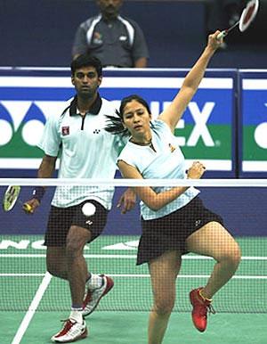 Jwala Gutta and V Diju