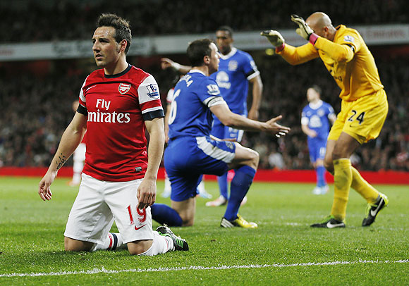 EPL: Everton force Arsenal to drop points at home