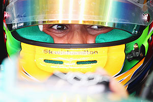 Rediff Sports - Cricket, Indian hockey, Tennis, Football, Chess, Golf - Bahrain GP: Hamilton gets five-place grid penalty