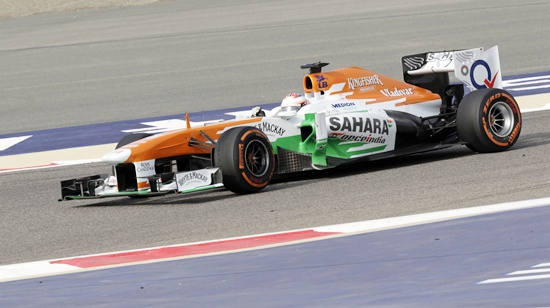 Force India Formula One driver Paul di Resta