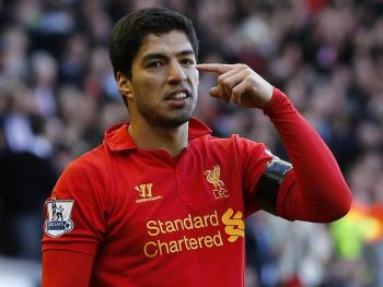 Liverpool fine Suarez for bite but won't sack him