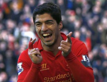 Suarez has 70m pound 'escape' clause in new Liverpool contract