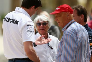 Rediff Sports - Cricket, Indian hockey, Tennis, Football, Chess, Golf - Only top 10 F1 teams to get prize money: Ecclestone