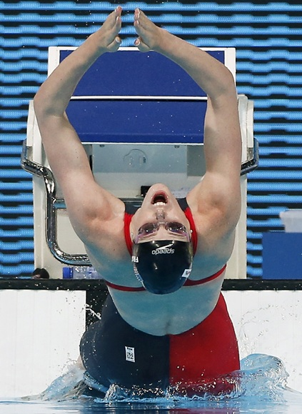 Missy Franklin of the US
