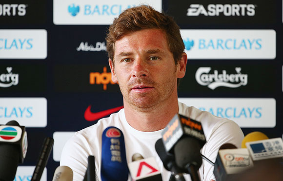 Spurs manager Andre Villas-Boas