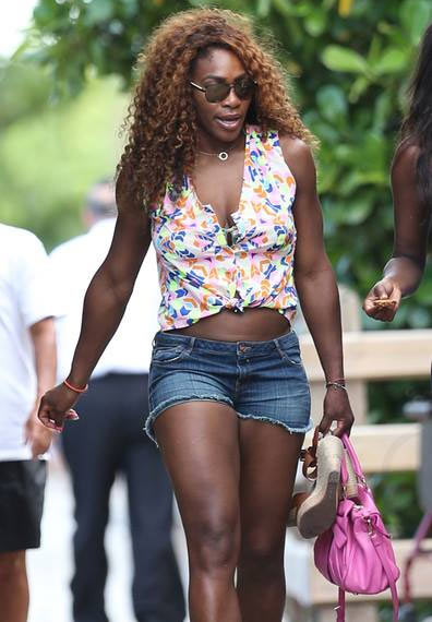 PHOTOS: Serena Williams having fun, but still not satisfied