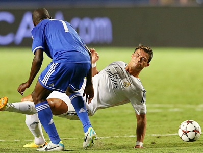 Ronaldo scores twice as Real beat Chelsea in friendly