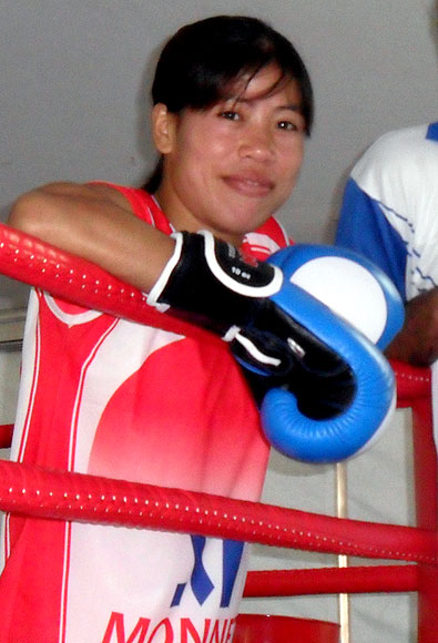 'Mary Kom was part of our team'