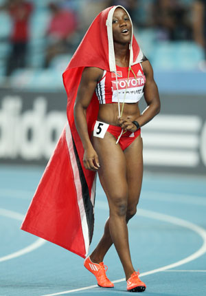 Kelly-Ann Baptiste of Trinidasd & Tobago
