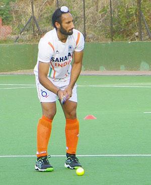Hockey captain Sardar Singh