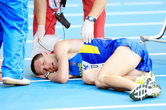 World Athletics Championships: Not a pretty picture!