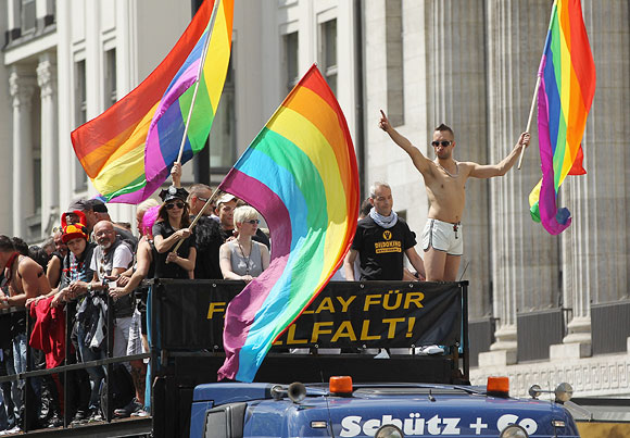 A gay parade in Washington