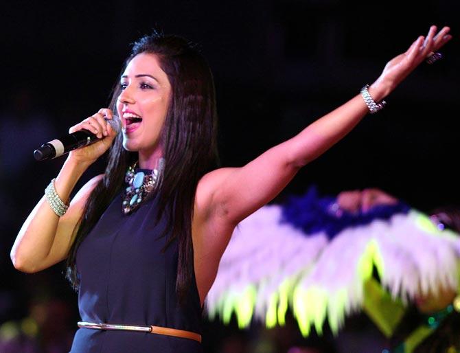 Singer Neeti Mohan