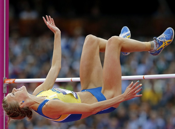 Sweden's Emma Green Tregaro