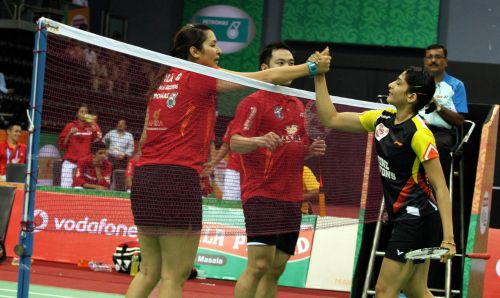 Jwala Gutta and Ashwini Ponappa