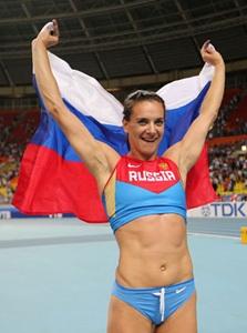 Isinbayeva condemns Green-Tregaro's rainbow gesture