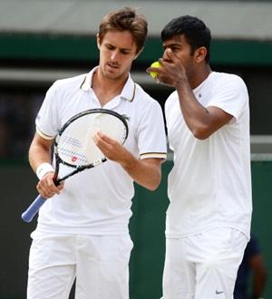 Edouard Roger-Vasselin and Rohan Bopanna