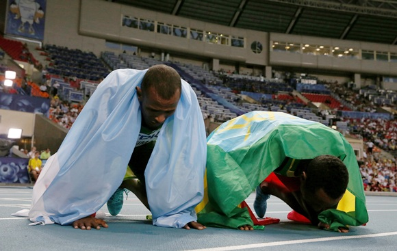World Athletics: What a way to celebrate!
