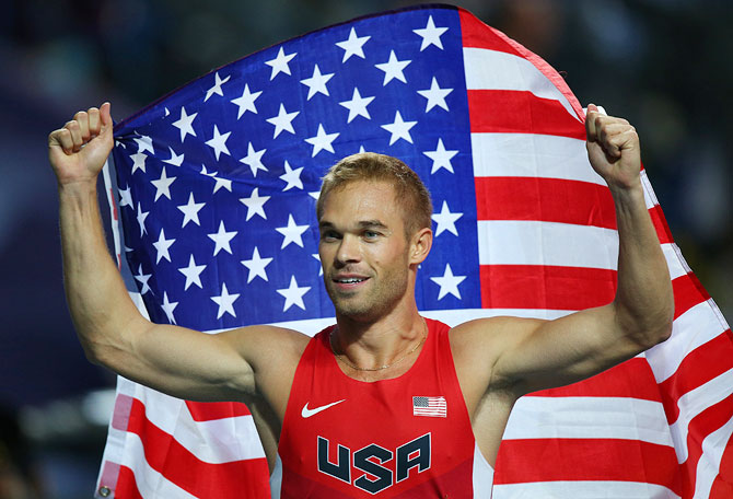 Nick Symmonds of the United States
