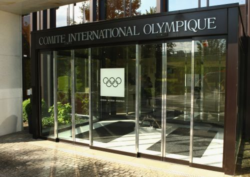 General view of out side the International Olympic Committee headquarters