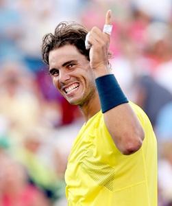 Nadal to meet Isner in Cincinnati final